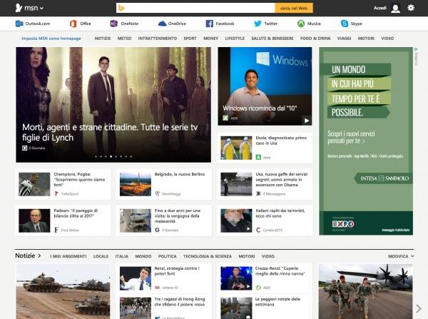 Da oggi online il nuovo MSN: disponibile in Italia ed in oltre 50 Paesi del Mondo