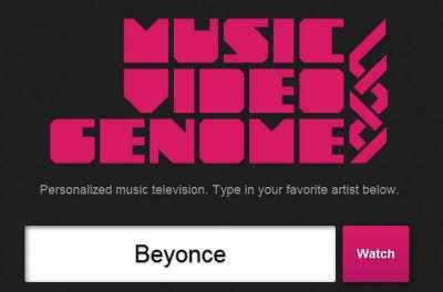 Musicvideogenome.com