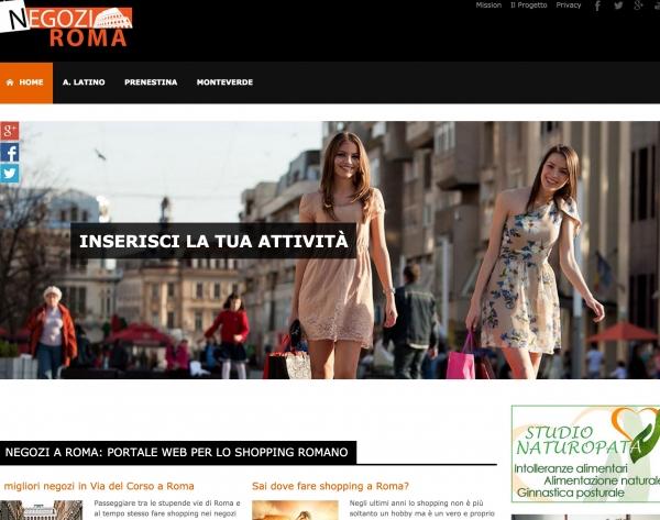 Negozi a Roma