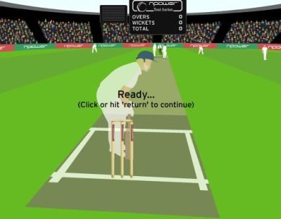 npower Test Series Cricket