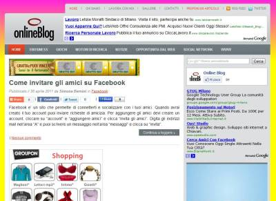 Onlineblog.it