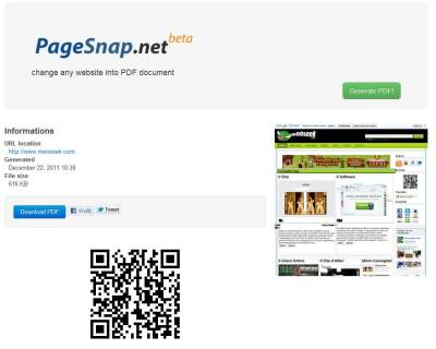 PageSnap.net
