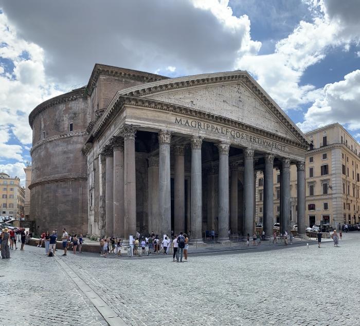 Pantheon e Nuvole