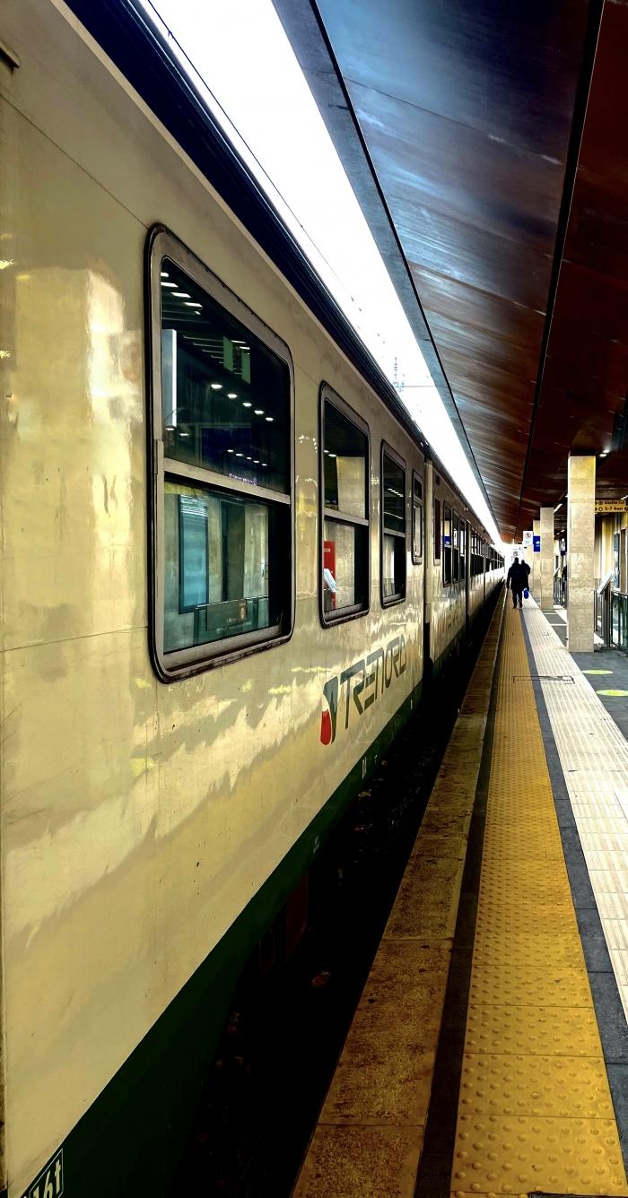 Partenza in treno