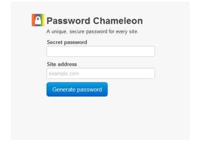 Password Chameleon
