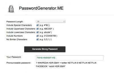 PasswordGenerator.ME