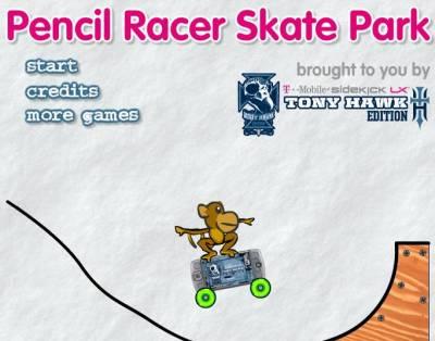 Pencil Racer Skate Park