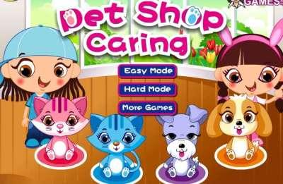 Pet Shop Caring