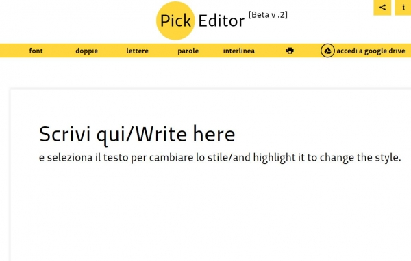 Pick Editor