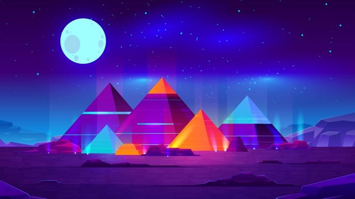 Piramidi Minimal Psichedeliche