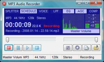 Pistonsoft MP3 Audio Recorder Pro