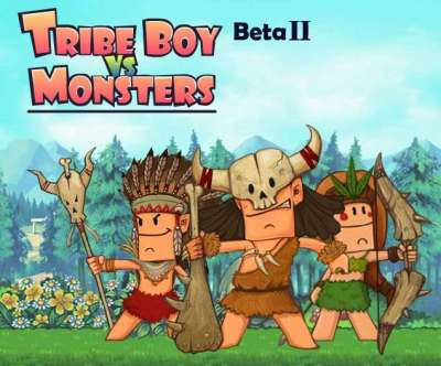 Play game Tribe Boy Vs Monsters
