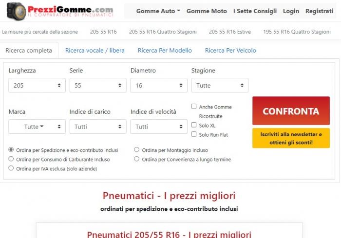 Prezzigomme.com