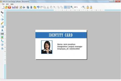 Printable ID card Maker