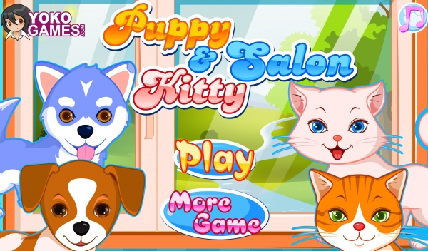 Puppy and Kitty Salon