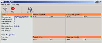 Remotebymail windows il programma per controllare il for Programma per vedere telecamere da remoto