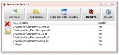 Remove with Batch
