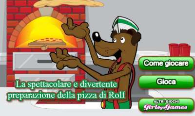 Rolfs Pizza Making Game