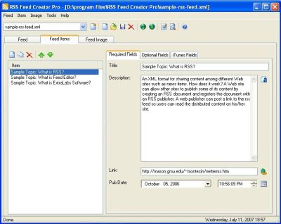 RSS Feed Creator Pro