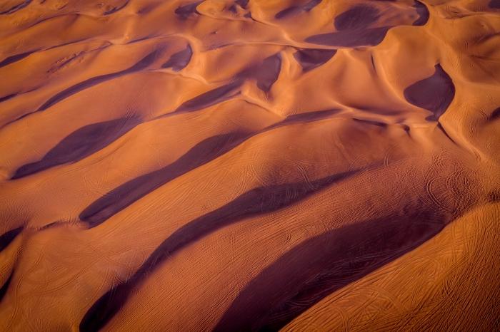 Sabbia in rosso