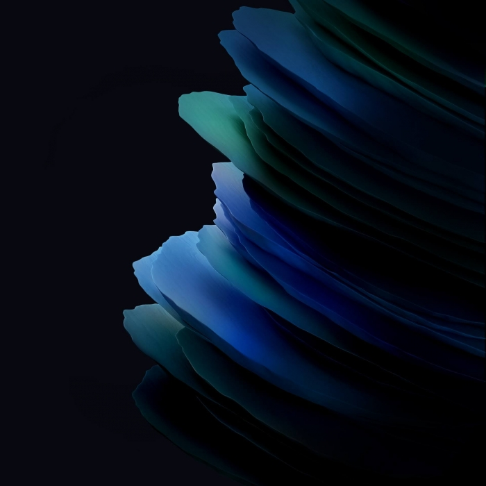 Samsung Galaxy Tab Active 3 Stock Wallpapers Blu