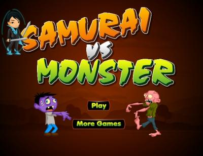 Samurai Vs Monster
