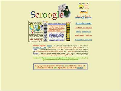 Scroogle.org