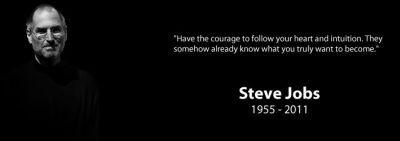 Sfondi dedicati a Steve Jobs con quotes