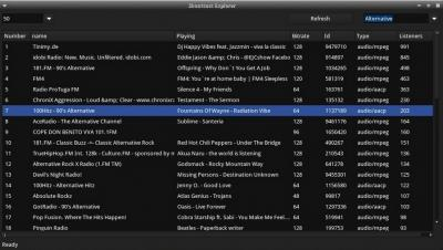 Shoutcast Explorer