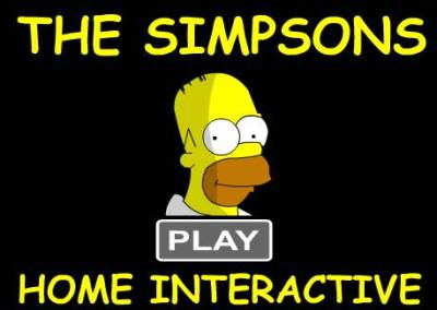 Simpsons Home Interactive