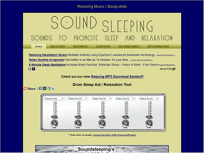 Soundsleeping.com