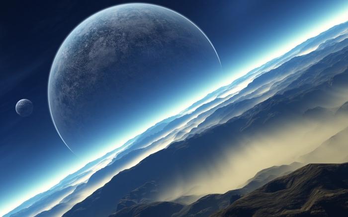 Space Earth Sunshine