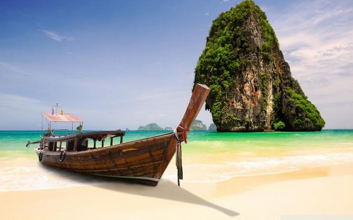Spiaggia in Tailandia HD