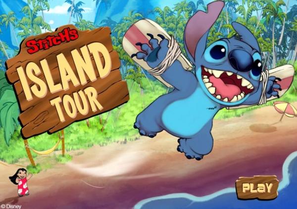 Stitch's Isand Tour