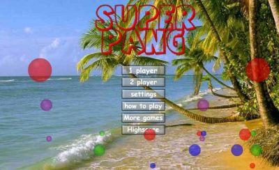 Super Pang The Island Tournament