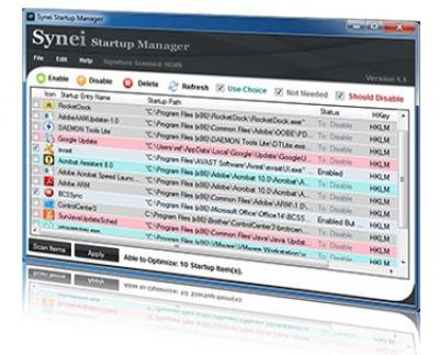 Synei Startup Manager