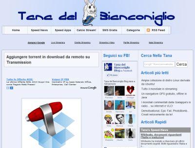 Tanadelbianconiglio.com
