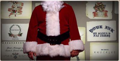 Tatoo Santa