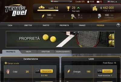 Tennis Duel