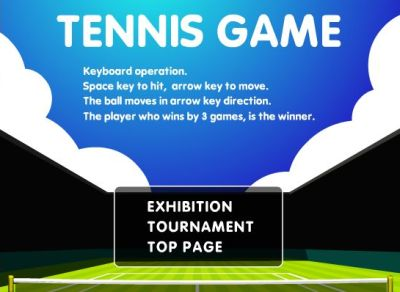Tennis Game Des