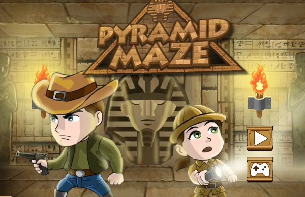 The Pyramid Maze Game