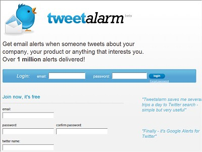 Tweetalarm.com
