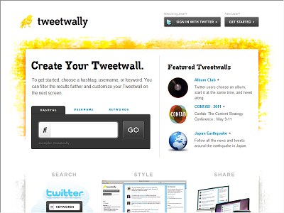 Tweetwally.com
