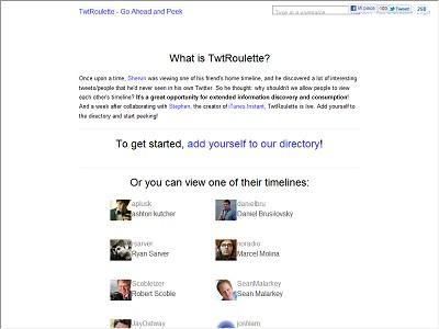 Twtroulette.com