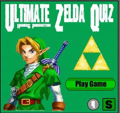Ultimate Zelda Game Quiz