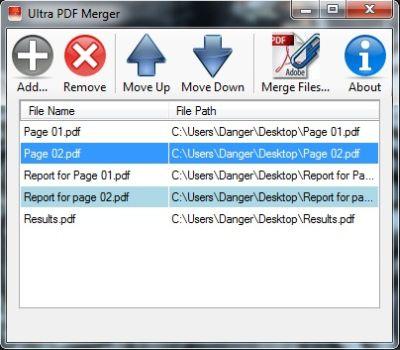 Ultra PDF Merger
