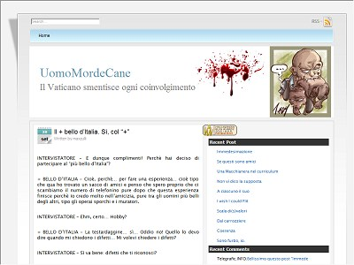 Uomomordecane.it