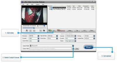 uRex iPhone Video Converter
