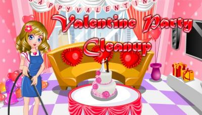 Valentine Party Cleanup