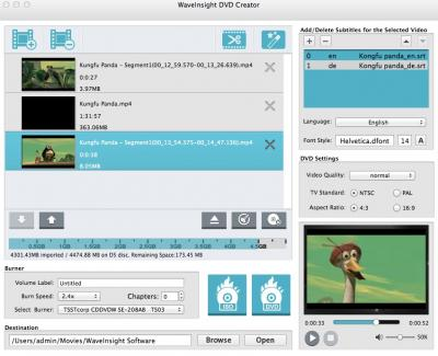 WaveInsight DVD Creator